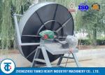 SOP Carbon Steel Fertilizer Granule Machine / 380V Pan Granulation Process
