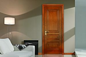 China High quality oak wooden doors design for house on sale