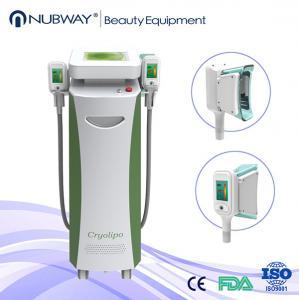 China cavitation rf cryolipolysis slimming machine / beauty tighten cryolipolysis system cryo on sale
