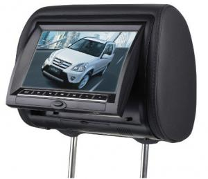 China IR Transmitter Headrest Game Player 7 inch Car Headrest Dvd Players For Car on sale