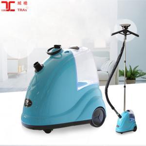 China Hot sale E8-T288 blue vertical steam iron 1750w vertical garment steamer on sale