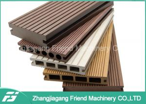China PE PVC Wood Plastic Composite Extrusion Machine With CE / SGS / TUV Certificate on sale