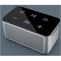 China nice aluminium body Hi Fi portable wireless bluetooth speaker with touch button design on sale