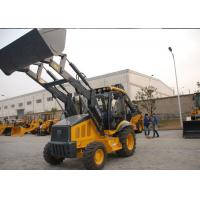 Professional Tractor Loader Backhoe With 4 In 1 Bucket / Hydraulic Hammer