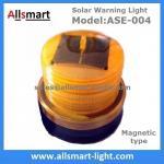 o tambor de flutuação de piscamento magnético posto solar da baliza da cor 4LED amarela ambarina ilumina luzes das luzes de sinal da boia no mar