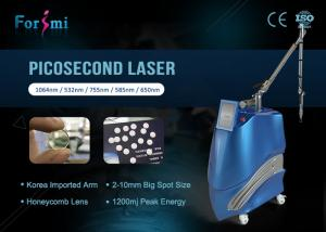 China Forimi manufacturer self developed Pico way birthmark removal painless 500ps super picosecond nd yag on sale