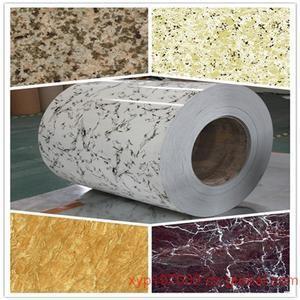 China PPGI Wood Grain Colored Galvanized Steel Coated Prepainted Galvanised Steel Coils on sale
