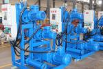 Blue Professional Vacuum Pump Set With Roots And Dry Screw Vacuum Pump