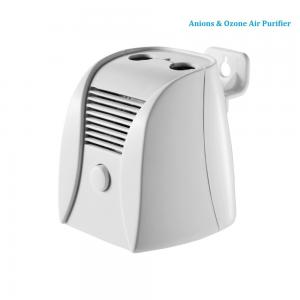 China No filters white ABS Dual Air Purifier small battery and adapter 6V 1A on sale