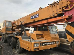 China KATO NK-300E-III Second Hand Cranes , Second Hand Truck Mounted Cranes Original Paint on sale
