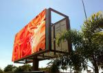 P10 Outdoor LED billboard 960*960mm iron cabinet with high resolution for advertising