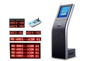 China CE Windows System Cold Rolled Steel Floor Patient Queuing System on sale