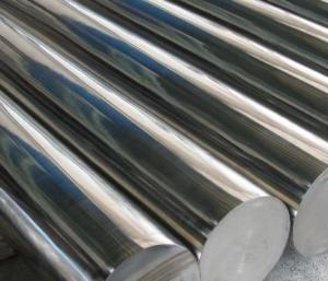 China 316ti 316n 316 Stainless Steel Round Bar , Metal Ss Bar Stock Custom Dimension on sale