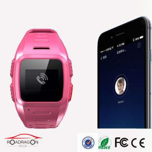 China Gps Device To Track A Person / IP67 Child Gps Tracker Watch Support Multi Languages on sale