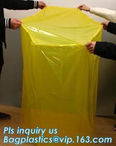 China PE Moisture Proof Plastic Pallet Cover, POLYETHYLENE SHRINK PALLET COVERS, Europallet 80x120x250 cm, bagplastics, bageas on sale
