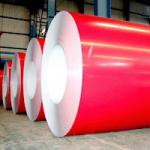 Zinc 40g/m2 enduit | 180 g/m2 ont enduit la bobine d'une première couche de peinture en acier galvanisée avec protègent FIim