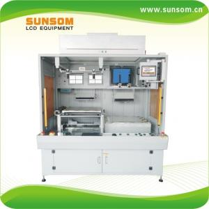China Hot sale soft to rigid Automatic LCD&glass screen laminating machine for phone on sale