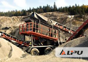 China Energy Saving Rock Crushing Equipment / Portable Crusher Plant on sale