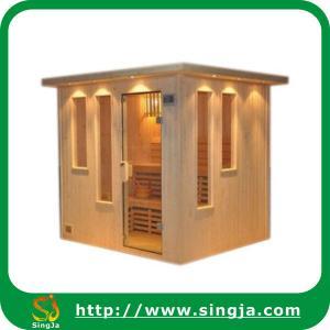 China Luxury Dry Sauna House/Sauna Cabin/Sauna Room(SR-D9) on sale
