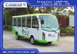 Closed Electric Sightseeing Car With 14 Seaters toplight / dry Battery  electric shuttle bus 72V AC motor