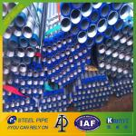 hot dip galvanized steel pipe threaded on both ends