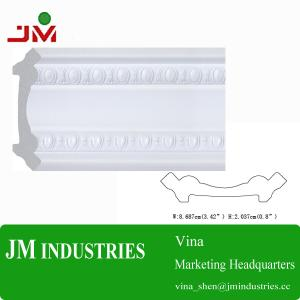 China PS Home Building Material-PS Construction Mouldings/JMV124- Moisture-proof PS Crown Molding on sale