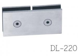 China Glass clamps DL220,  Material Zinc alloy type,  Satin or Mirror, double type on sale