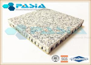 China Weather Proof Honeycomb Stone Panels With Aluminium Plate Fast Installation on sale