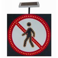 China SJ804 Solar LED Traffic Signal Light on sale