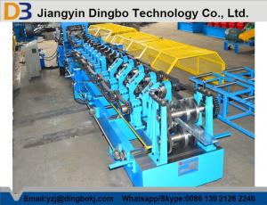 China Hydraulic Post Cutting CZShaped Steel RollForming Machine With Cr12 Blade on sale