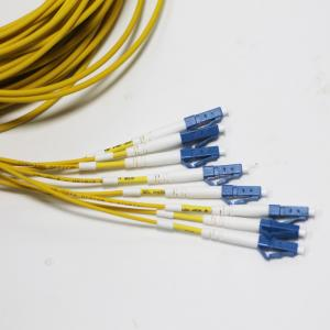 China LC UPC SM G657a1 Pre Terminated Fiber Optic Cable LSZH on sale