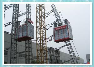 Industrial Platform Rack & Pinion Hoist Construction Elevator Rental
