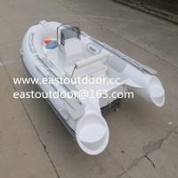Fiberglass fishing boat, RIB boat, open boat, Rigid inflatable boat RIB330