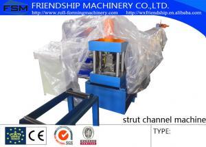 China GI Steel 1.2 - 2.0mm Stud Roll Forming Machine Used For Light Steel Stud and Track on sale