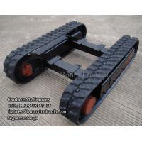 custom built rubber crawler track undercarriage