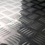 Mirror Finish Aluminium Checker Plate With Five Bar Round Pattern
