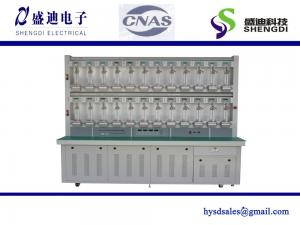 China Single phase test bench for digital energy meter 1~48 Positions,0.05% Accuracy class,0~100A current range on sale
