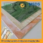 Realistic Wood Grain Laminate Film , Heat Transfer Printing Film For Plastic Products