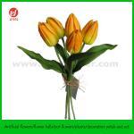 """14"""" Ramalhete artificial X 5 da tulipa do toque real do plutônio"""