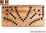 Tock 4 - strategy wood board game wooden board game, unique game family board game game for adults