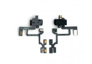 China Headphone Audio Jack Flex Circuit Cable Repair Replacement Parts for iPhone 4S on sale
