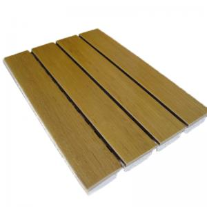 China Church Decorative Wooden Sound Absorption Wall Panel Moistureproof And Mildewproof on sale