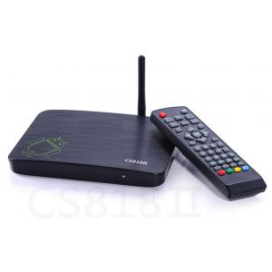 China Amlogic 8726 MX dual core android smart tv boxes With Wifi Support 16GB 32GB on sale