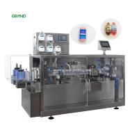 China 30ml Plastic Ampoule Filling And Sealing Machine Small Volume GGS 118P5 on sale