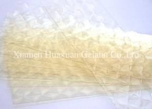 China Bakery Edible Gelatin Sheets Halal Gelatine Leaves With ISO Certificate on sale