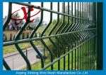 Waterproof PVC Coated Welded Wire Mesh Fence For Park 200 * 50mm