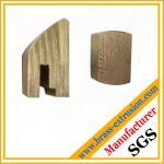 cierre las secciones de los perfiles de la protuberancia de la aleación de cobre del cilindro