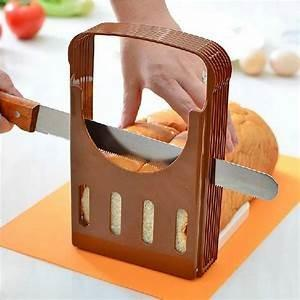 China ECO Friendly Kitchen Baking Tools Plastic bread Slicer Adjustable With FDA on sale