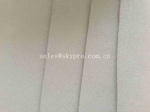 China 4mm 5mm Super Stretch Flexibility Nylon Double Lined Fabric Smooth Rough Embossed CR Neoprene Rubber Sheet on sale