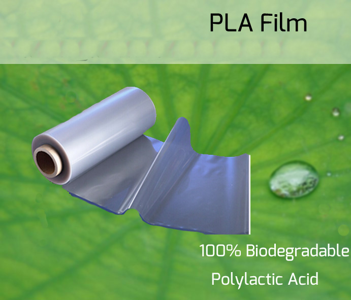 Clear Polylactic Acid Pla Biodegradable Film For Bread Bag